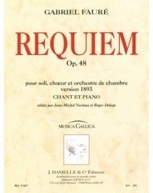 Gabriel Fauré : Requiem op....