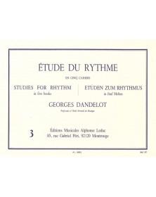 Étude Du Rythme Vol.3