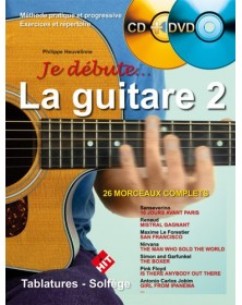 Je Débute la Guitare 2 + CD...