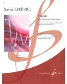 Lefèvre : Sonate n° 7 en...
