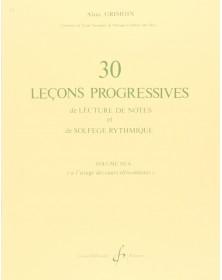 30 Lecons Progressives Vol. 3A