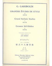 Grandes Études De Style Op....