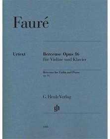 Berceuse Op. 16 pour Violon...