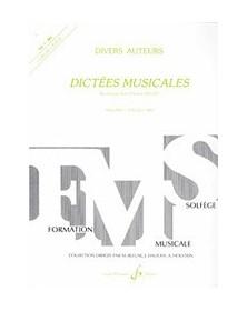 Dictées Musicales - Volume...