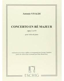 Concerto ré majeur op. 3 n° 9