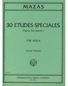 30 Etudes spéciales op. 36...