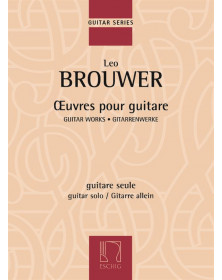 Brouwer : Œuvres pour guitare