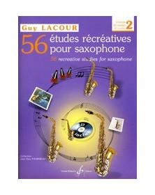 Guy Lacour : 56 Etudes...