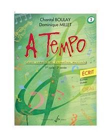 A Tempo Volume 2 - Ecrit