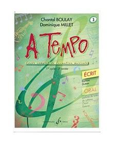 A Tempo Volume 3 - Ecrit