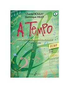 A Tempo Volume 4 - Ecrit