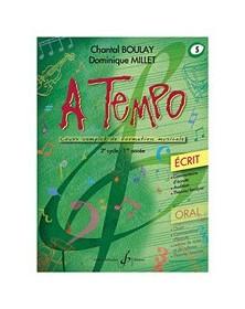 A Tempo Volume 5 - Ecrit
