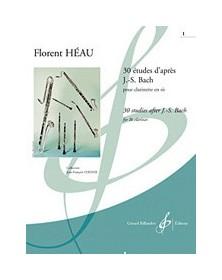 30 Etudes D'Apres J.S. Bach...