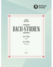 Bach Studies For Flute Solo...