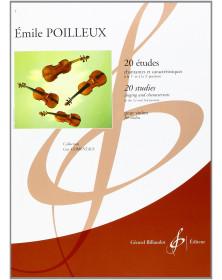 Emile Poilleux : 20 Etudes