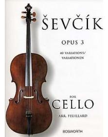 Sevcik : Études Opus 3 -...