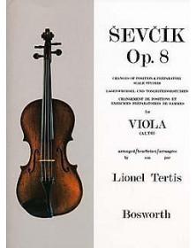 Sevcik : Études Opus 8 - Alto