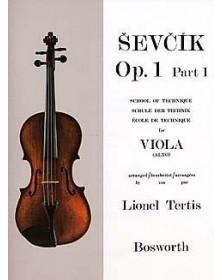 Sevcik : Études Opus 1 /...