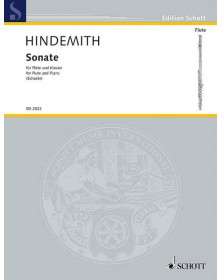 HINDEMITH : Sonate pour...