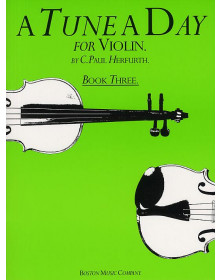A Tune A Day Vol. 3 - Violon