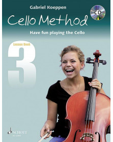 Cello Method: Lesson Book 3