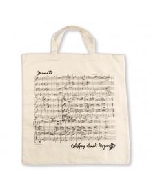 Sac Tissu Blanc Mozart
