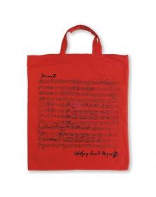 Sac Tissu Rouge Mozart