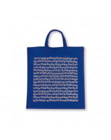Sac Tissu Bleu