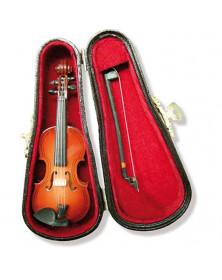 Violon miniature et son...
