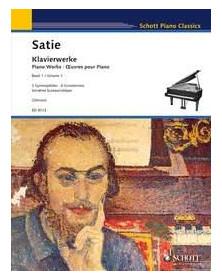 Erick Satie : Œuvres pour...