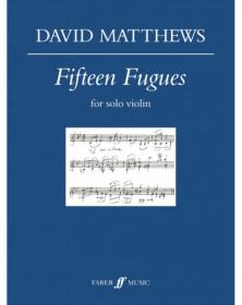 15 Fugues for solo Violin