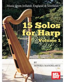 15 Solos For Harp Volume 1