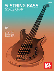 5-String Bass Scale Chart