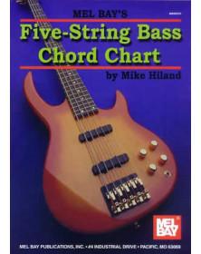 5-String Bass Chord Chart