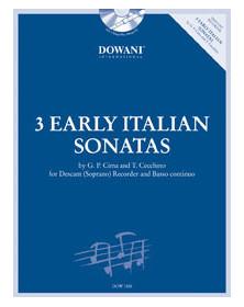 3 Early Italian Sonatas