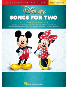 Disney Songs for Two Trombones