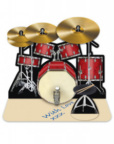 3D Card Drum Set