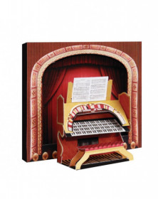 3D Card Theatre Organ