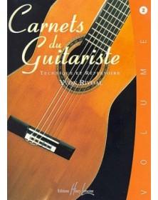 Carnets du guitariste Vol.2