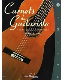 Carnets du guitariste Vol.3