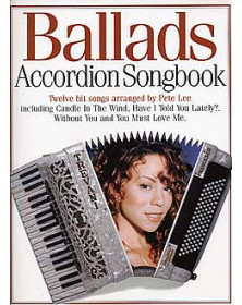 Ballads Accordion Songbook