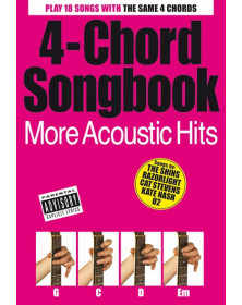 4-Chord Songbook More Acoustic