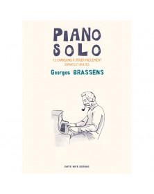 Georges Brassens - Piano Solo
