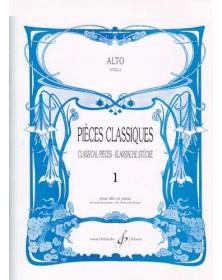 Pièces Classiques Volume 1...