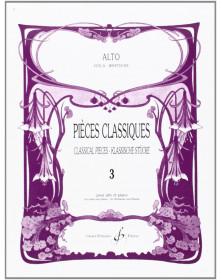 Pièces Classiques Volume 3...
