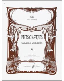 Pièces Classiques Volume 4...