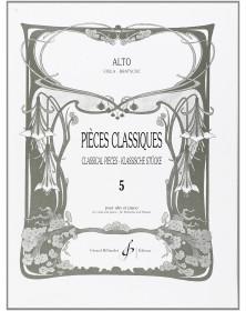 Pièces Classiques Volume 5...