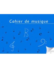 Cahier De Musique 6 Portées