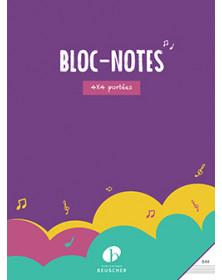 Bloc papier musique 4x4...