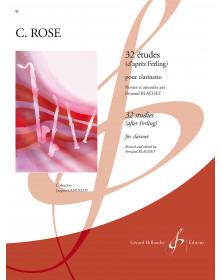 Rose : 32 Etudes d'après...